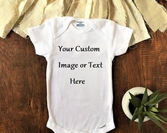 Custom Baby Onesie, Custom Baby Clothes, Custom Baby Shirt, Custom Onesie, Custom Baby Gift, Custom Baby Boy Onesie, custom baby girl onesie