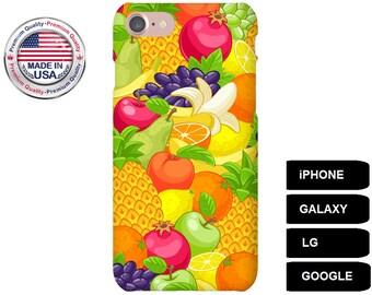 Fruit Phone Case, Phone Case Fruit, Fruit iPhone Case, Fruit Galaxy Case, Fruit Google Pixel, iPhone SE Case, Galaxy S5 Case, Galaxy S6 Case