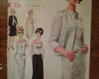 Vintage Simplicity 6787  size 16  Misses and women's . pattern NOT  CUT
