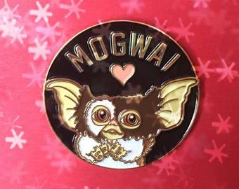 Gremlins Enamel Pin, Gizmo Lapel Pin, Mogwai 80s Horror Film Pin, Gremlins Hat Pin, Horror Enamel Pin, Christmas Movie Pin, Christmas Gift
