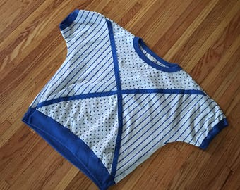 80's Geometric Top l/xl
