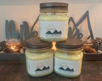 Lemon Meringue Candle