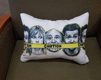 Always Sunny In Philadelphia Portrait Pillow