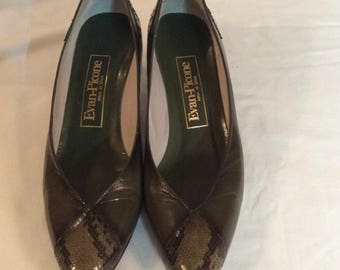 Evan Picone Olive Green Shoes