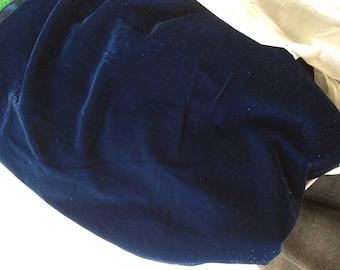 Blue Velvet 113 cm wide fabric