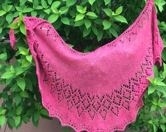 small lace shawlette
