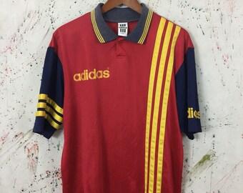 Vintage 90s Adidas Jersey Size M/L Hip Hop Swag