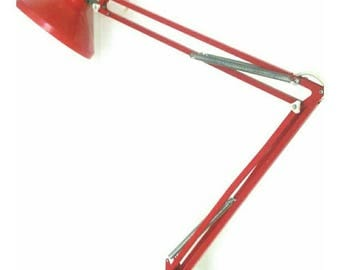 Vintage Herbert Terry Anglepoise Lamp in Red (4636)