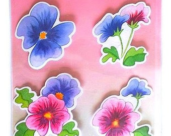 3D flowers 17 x 12.5 cm creative cardmaking scrapbooking stickers