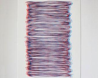 Risografia two colors - Duotone - Risograph - A3 +