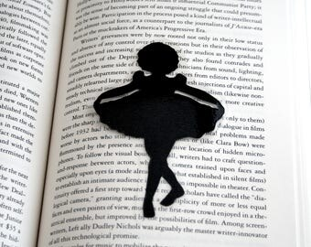 Shirley Temple Bookmark | Stand Up and Cheer! | Hand-Cut Silhouette