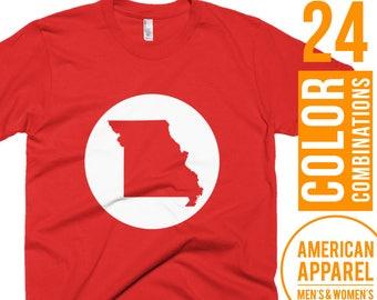 Missouri Tshirt Missouri T Shirt Missouri Tee Shirt Missouri T-Shirt Missouri Clothes Missouri Clothing Gift