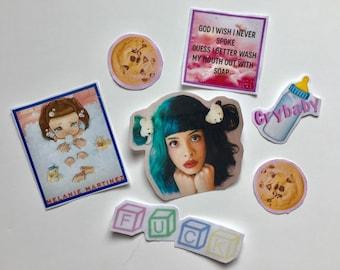 Melanie Martinez sticker pack (7pcs)