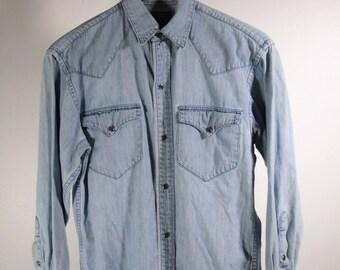 Ralph Lauren Country heavy denim shirt