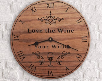 Wine Gifts - Funny wine tasting gifts - Gifts for wine lovers - Gifts for lovers of wine - Love The Wine Your With