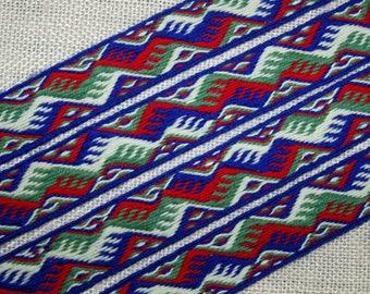 SNARTEMO Woolen tablet woven belt