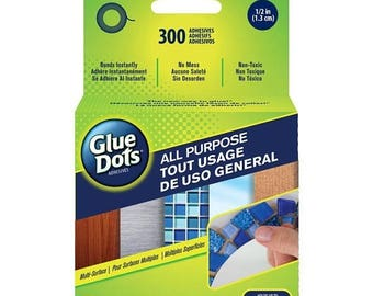 New Years Sale: Glue Dots All Purpose Glue Dots Box