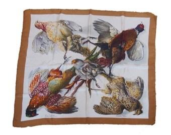 Hermès vintage silk scarf