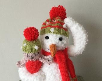 Plush snowman  Etsy