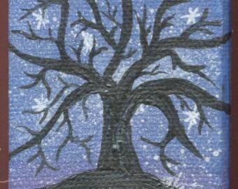 Tree Silhouette Scenes