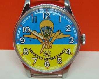 Pobeda, 1960-s watch, soviet watch, ussr watch, military watch, mens watch, russian watch, wrist watch, vintage watch
