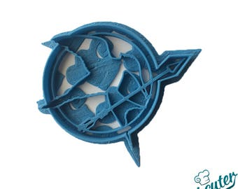 Mockingjay pin from Hunger Games Cookie Cutter