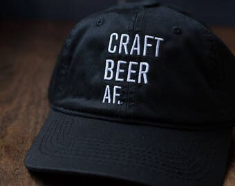 CRAFT BEER AF. Dad Hats