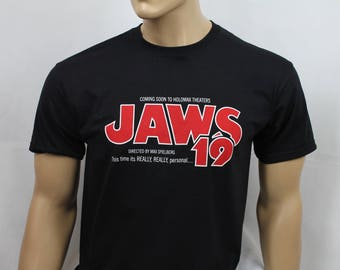 Back to the Future 2 inspired Jaws 19 t-shirt