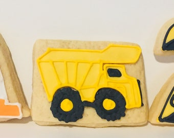 Construction Sugar Cookies