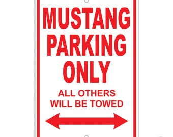 Ford Mustang Parking