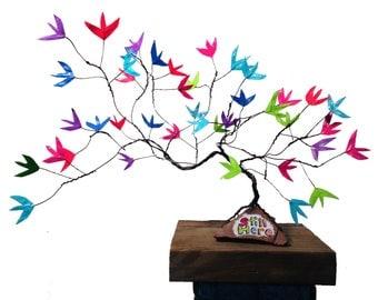 LGBT Pride Rainbow Tree \\ Still Here