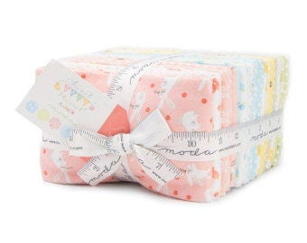 Free Shipping!!! Sweet Baby Flannels Fat Quarter Bundle by Abi Hall for Moda Fabrics - 26 Fat Quarters - Flannels Precuts - 100% Cotton