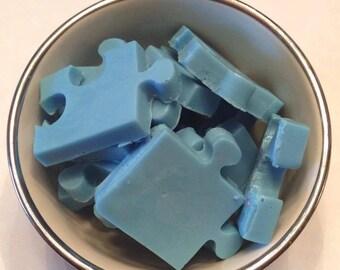 Puzzle Piece Soap