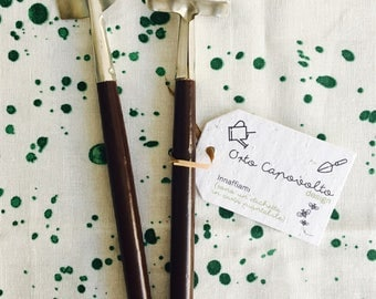 Mini Gardening tools with plantable tags