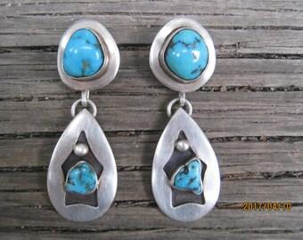 Vintage Navajo Earrings