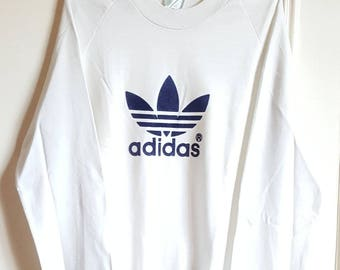 Sweatshirt Adidas Vintage 80's Made in France size M.