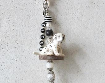 Bag pendant, charm, DALAMATINER