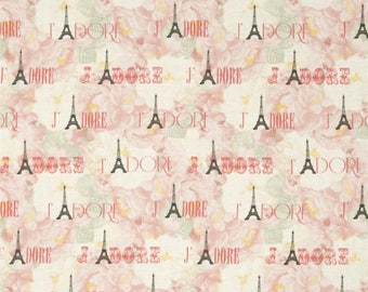 Patchwork JESSICA - APRIL IN PARIS TIMELESS TREASURES fabric