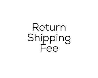 Returnn shipping fee