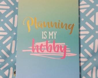Planning Is My Hobby sticker book