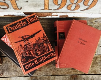 Old Books - 1930's Germany & Other Red Books FREE SHIPPING