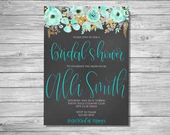 Bridal or Baby Shower Invitation