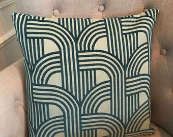 Decorative Chenille Jacquard Throw Pillow Cover