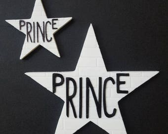 Prince Star magnet - First Avenue Minneapolis