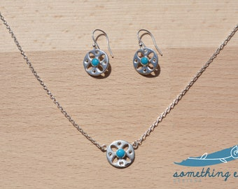 Lizzie Necklace and Earring set