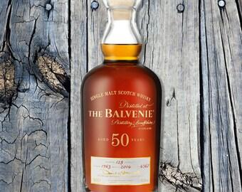 The Balvenie 50 Years Print