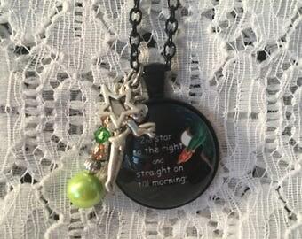 Peter Pan Charm Necklace/Peter Pan Jewelry/Peter Pan/Peter Pan Pendant