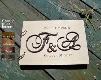 Personalized guest book alternative, guest book alternative, wedding guestbook rustic, guestbook wooden, wedding guest book Ideas , GB#006