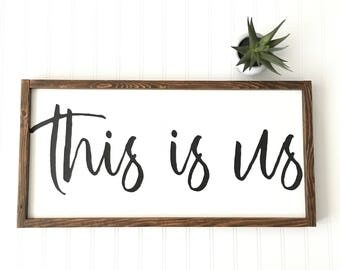 this is us sign etsy