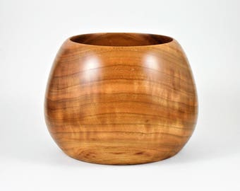 bowl of cherry wood